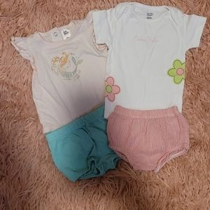 Mermaid Outfit and Calvin Klein Baby Outfit